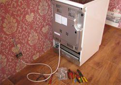Подключение электроплиты. Волжские электрики.