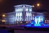 освещение фасадов в Волжском