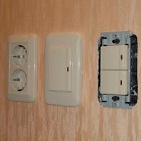 Монтаж, ремонт, замена выключателей Волжский